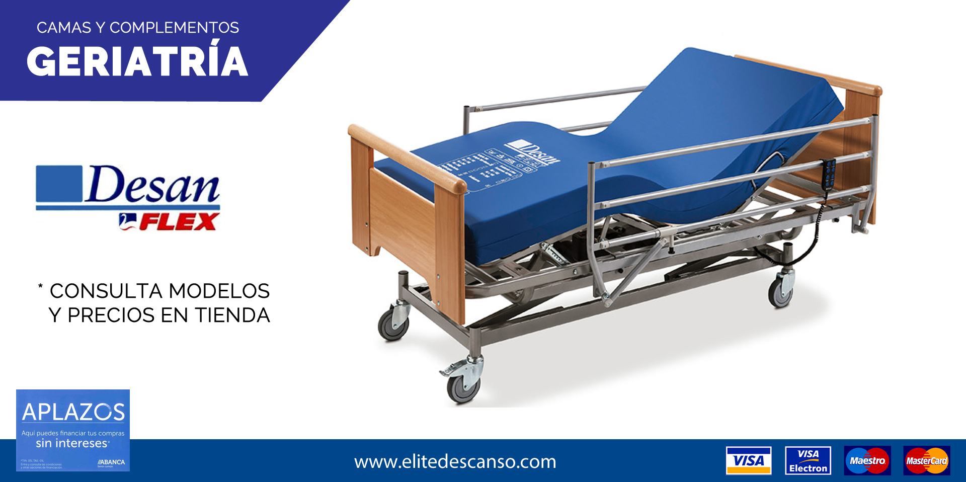 ofertas camas articuladas geriatría enfermos pacientes ancianos