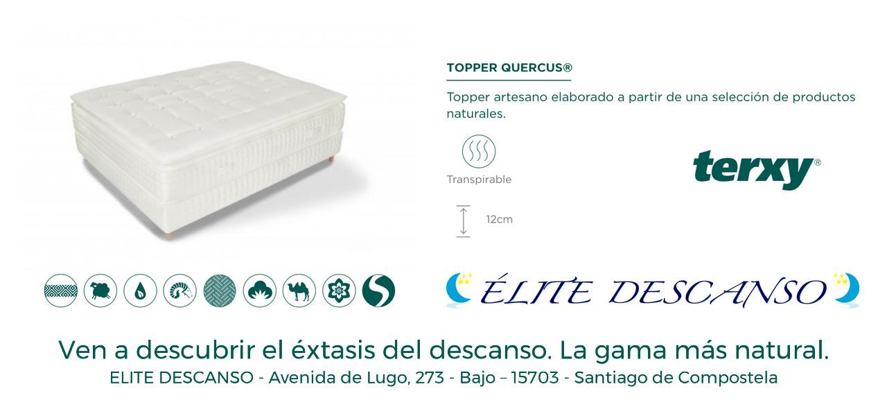 Oferta Topper Quercus Terxy Elite Descanso Santiago de Compostela